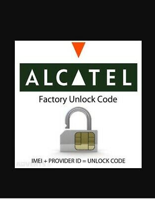 Remote Unlock Service For Alcatel 5041C/5052A/5058A/5059/5059R/5133A/6045O/5033