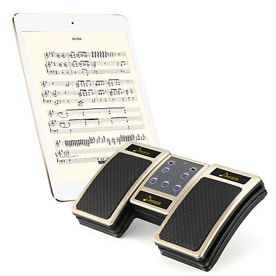 Donner Bluetooth Page Turner Pedal wireless for Tablets Rechargeable controller