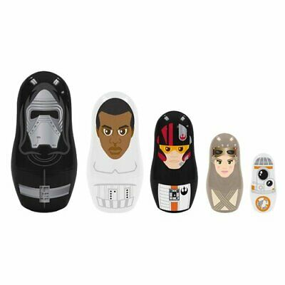 Collectible PPW Toys Star Wars Episode VII the Force Awakens Nesting Dolls Set
