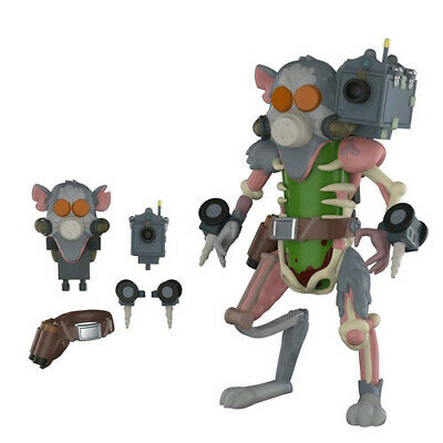 Funko Rick and Morty Pickle Rick Action Figure with Rat Suit Accessories