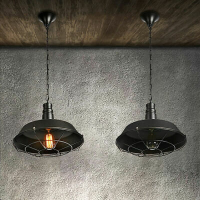 Vintage  Light Antique Loft Bar Ceiling Pendant Industrial lamp Shade ARU1 NEW