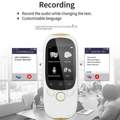 K1 Portable 45 Languages Smart Voice Translator WIFI Translation Machine