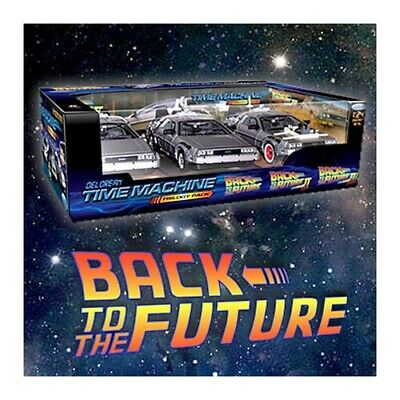 Back To the Future Movie Classic Delorean Trilogy Gift Set Time Travel Machine