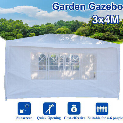 3*4M Heavy Duty Outdoor Garden Gazebo Party Tent Wedding Marquee Awning Cream