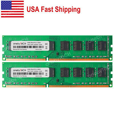 US 16GB KIT 2X8GB 1600MHZ PC3-12800 240 pin Desktop Memory For AMD A8 7600 only