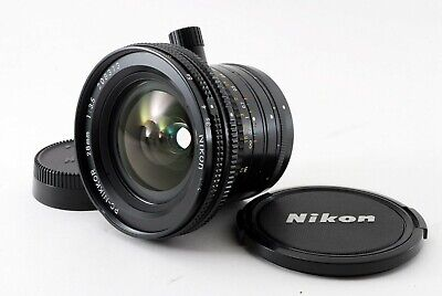Near Mint NIKON PC-Nikkor 28mm F/3.5 F Mount Shift Lens PC from Japan