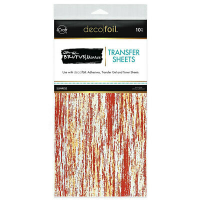 "Thermoweb iCraft Deco Foil Transfer Sheet Sunrise  6x12"", 10pk by Brutus Monroe"