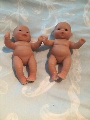 Two Small 5inch Baby Dolls Like Berenguer