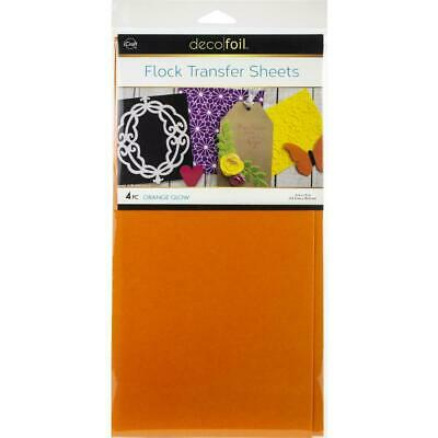 "Thermoweb iCraft Deco Foil Transfer Sheet Orange Glow  6x12"", 4pc"