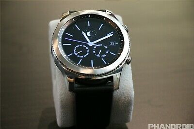 Samsung SM-R760 Gear S3 Frontier Classic Stainless Steel Smartwatch - Silver