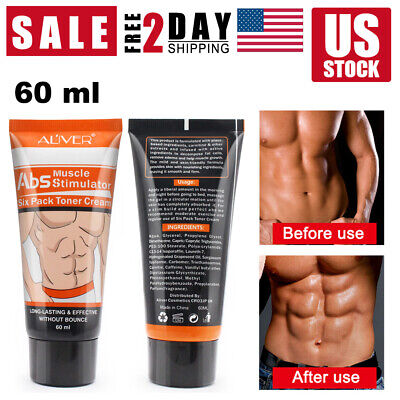 Powerful Abdominal Muscle Cream Stronger Anti Cellulite Burn Fat Weight Loss Men