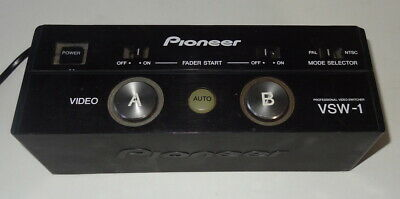 Pioneer VSW-1 Professional DVJ Automatic Video Switcher No Reserve!