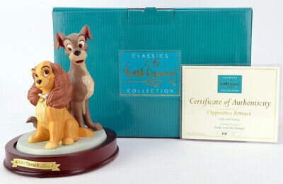 WDCC Disney - Lady and the Tramp - Opposites Attract