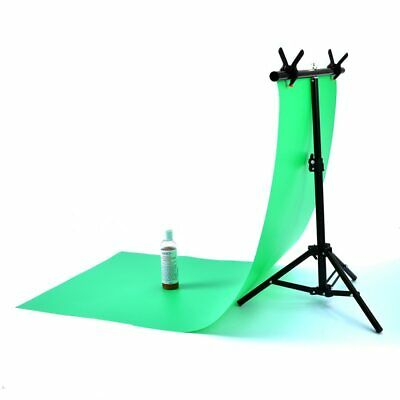 Adjustable PVC Background Photography Backdrop Support Stand System with Clamp
