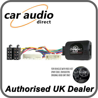 Connects2 CTSDC003 Stalk Adapter for Dacia Duster Sandero Dokker 2017>