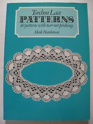 TORCHON LACE PATTERNS by HENK HARDEMAN
