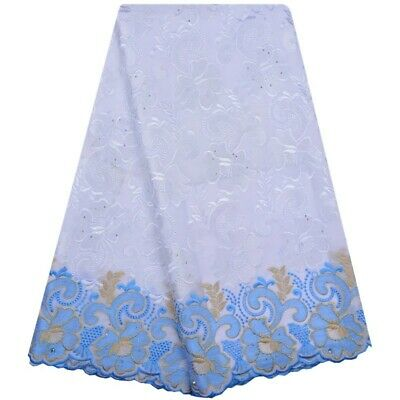 Elegant African Wedding Lace Fabric High  Quality