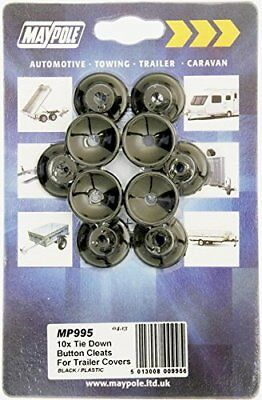 Tie Down Button Cleats for Trailer Covers x10