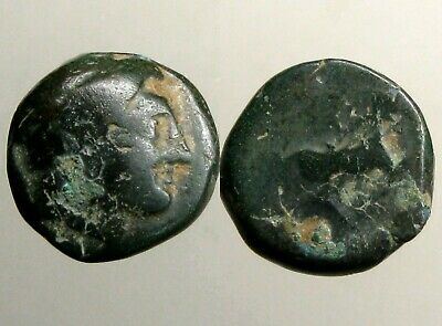 PHILIP II MACEDONIA AE17___3 Time Olympic Champion___FATHER OF ALEXANDER - GREAT