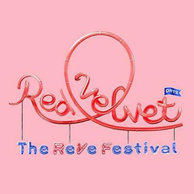 RED VELVET [THE REVE FESTIVAL DAY 2]Album GUIDE Ver. CD+P.Book+Post+P.CARD K-POP