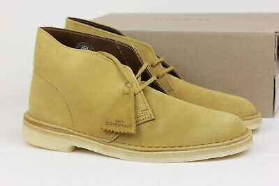 8e0fb384449 CLARKS ORIGINALS DESERT Boot Oak Suede Mens Size Shoes 38233 ...