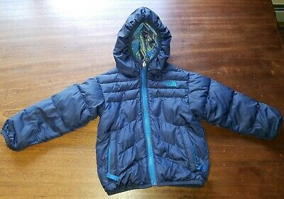 2d653c503 NEW THE NORTH Face Todd Reversible 2T Toddler Baby Boys Winter Coat ...