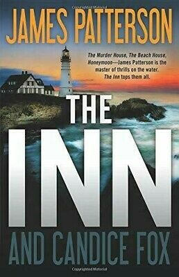 The Inn by James Patterson & Candice Fox Hardcover (Brand New) Fast Delivery