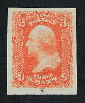 CKStamps: US Stamps Collection Scott#65E13 3c Washington Unused NG Essay Thin