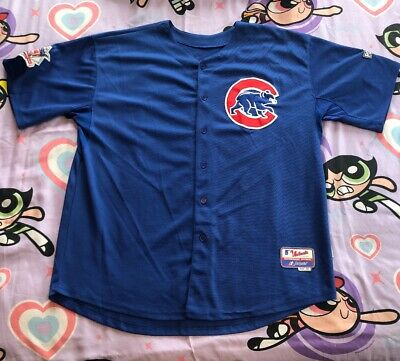 Chicago Cubs Vintage Majestic Brand Jersey 56 #49 Jake Arrieta 2015 Post Season