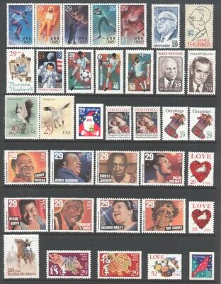 1994 U.s. Commemorative Year Set *76 Stamps* Mint-Nh