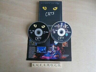 Andrew Lloyd Webber's Cats Ultimate Edition Elaine Paige John Mills - 2 Dvds