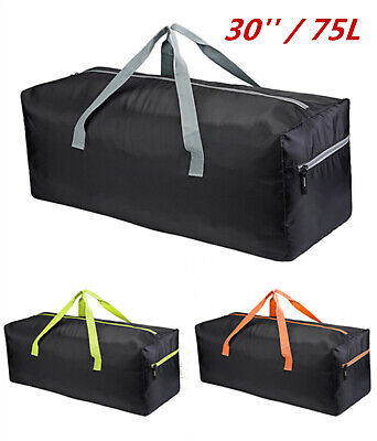 "30""/75L Extra Large Foldable Duffel Bag Waterproof Travel Storage Luggage Bag"