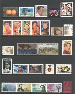 2011 U.s. Commemorative Year Set *60 Stamps* Mint-Nh