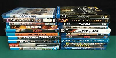Blu-Ray Movies. Assorted. Lot Of 21.  (430)
