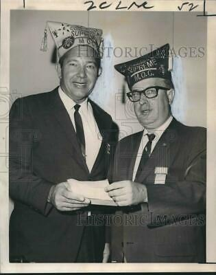 1967 Press Photo Military Order of Cootie, Veterans of Foreign Wars Officers