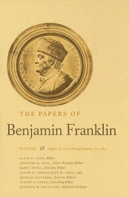The Papers of Benjamin Franklin  Vol  38  Volume 38  August 16  1782