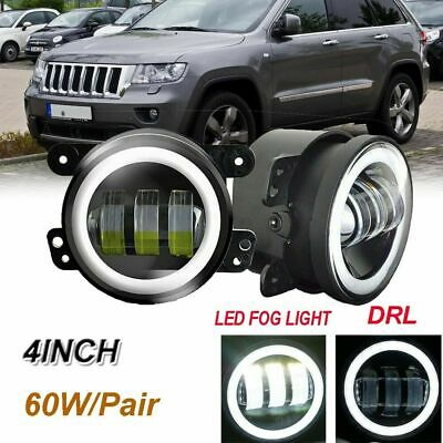 For Dodge Charger Jeep Grand Cherokee Led Clear Lens Chrome