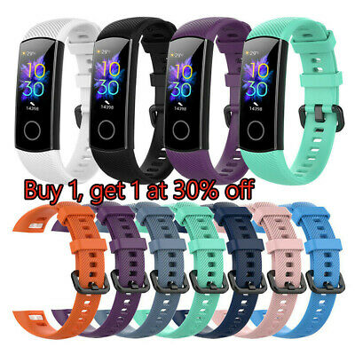 Smart Wristband Watch Band for Huawei Honor Band 5 4 Silicone Wrist Strap