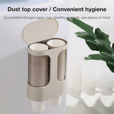 Disposable Cup Holder Automatic Cup Holder Wall-Mounted Paper Cup Dispenser