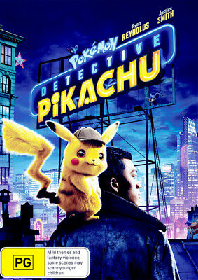 Pokemon: Detective Pikachu (2019) [New Dvd]