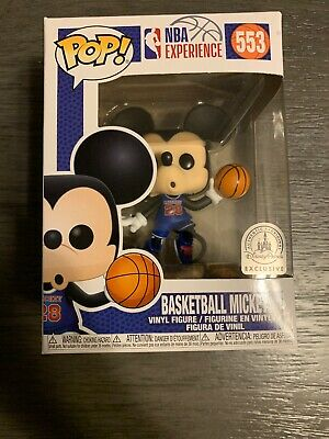 funko pop basketball Mickey Exclusive Disney Parks - Available Now