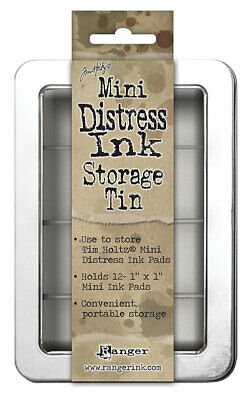 Ranger Mini Distress Ink Storage Tin by Tim Holtz