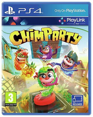 Chimparty Sony Playstation PS4 Game 3+ Years