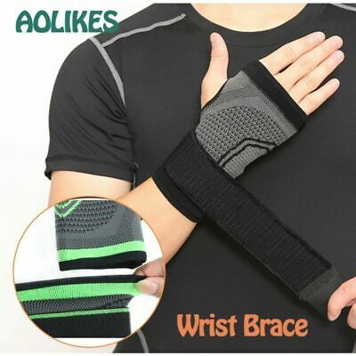 Wrist Strap Carpal Tendonitis Tunnel Palm Pain Relief Protector Brace Support US