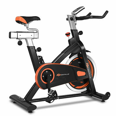 Exercise Bike Cycle Trainer Indoor Workout Cardio Fitness Bicycle Stationary