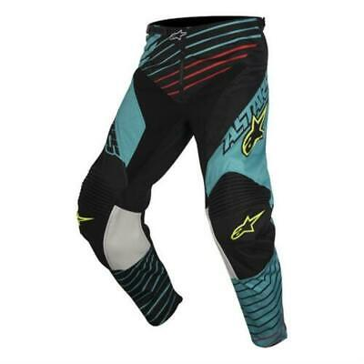 Alpinestars Racer Hose Kinder 26 135-146cm Kids youth pant Motocross Mx Türkis