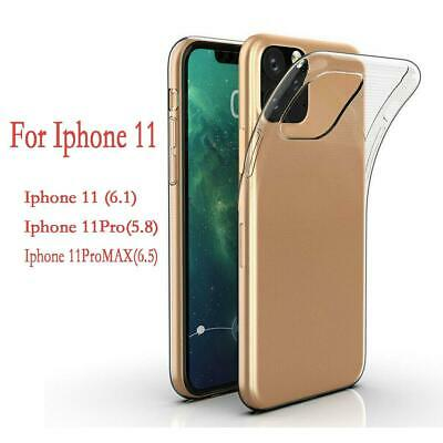 For 2019 New iPhone 11 XI/5.8 Max/6.5 XE/6.1 Clear Shockproof Case Bumper Cover