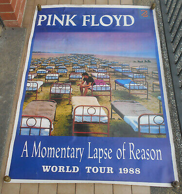 Pink Floyd A Momentary Lapse Of Reason World Tour 1988 Affiche Manifesto Poster