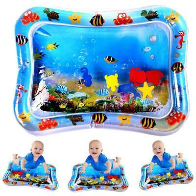 Baby Inflatable Water Play Mat Infants Toddlers Kid Perfect Fun Tummy Time Play