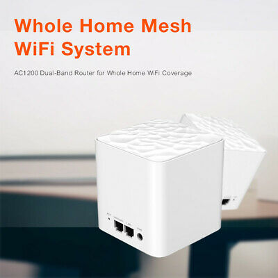 MW3 Wifi Router AC1200 Dual-Band for Whole Home Wifi Coverage Mesh WiFi System